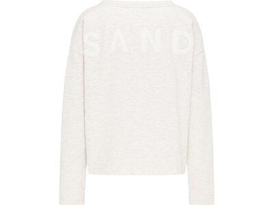 ELBSAND Damen Sweatshirt ES ALRUN 025 BB01 Weiß