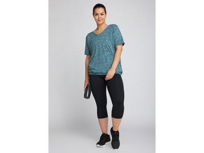 CURVY FIT Damen Shirt Sui DMELH Blau