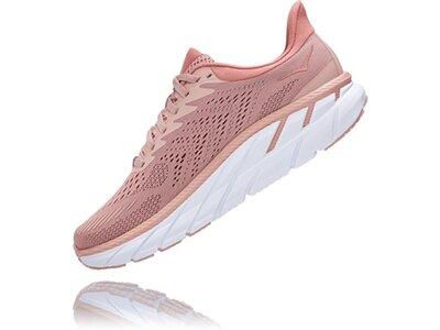 HOKA Damen Laufschuhe CLIFTON 7 Pink
