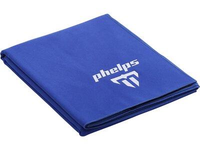 PHELPS Handtuch MICRO TOWEL KS Blau