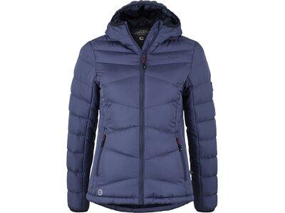 LINEA PRIMERO HW18 Wattierte Jacke Amber blau