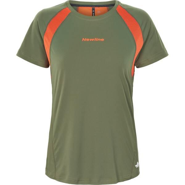 NEWLINE Damen T-Shirt Black Feather Tee