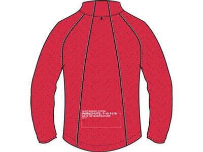 NEWLINE Herren Laufjacke Black Windshield Jacket Rot