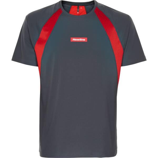 NEWLINE Herren T-Shirt Black Feather Tee