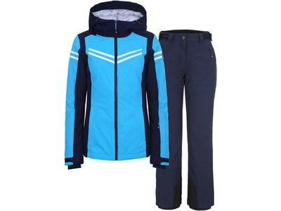 ICEPEAK Damen Ski Set FONDA Blau