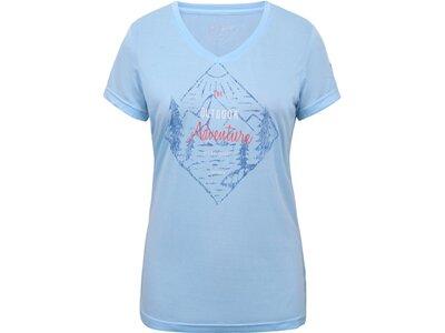 ICEPEAK Damen Shirt BASSFIELD Blau