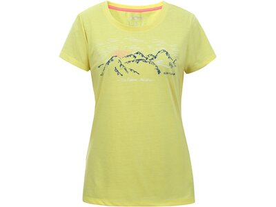 ICEPEAK Damen T-Shirt BEDDINGTON Gelb
