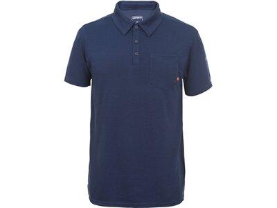 ICEPEAK Herren Poloshirt Blau