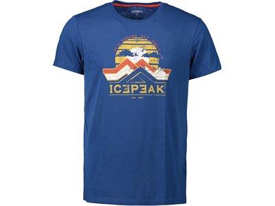 ICEPEAK Herren Shirt BUDE Blau
