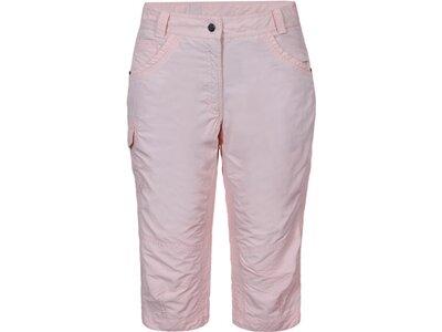 ICEPEAK Damen Caprihose LAUREN Pink