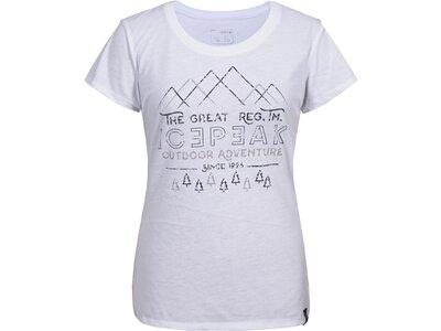ICEPEAK Damen T-Shirt STACY Grau