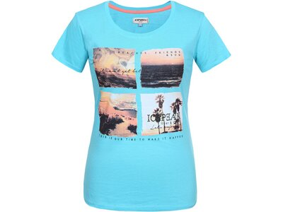 ICEPEAK Damen T-Shirt MARIE Blau