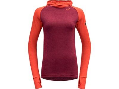DEVOLD Damen Unterhemd EXPEDITION Rot