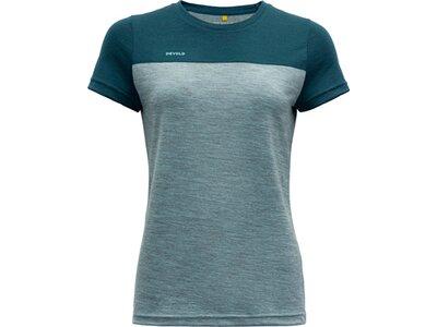 DEVOLD Damen T-Shirt NORANG Blau