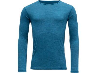 DEVOLD Herren Unterhemd BREEZE Blau