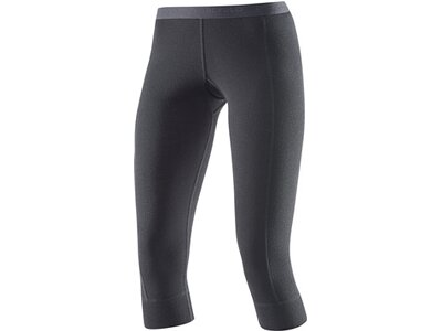 DEVOLD Damen Unterhose HIKING WOMAN 3/4 LONG JOHNS Schwarz