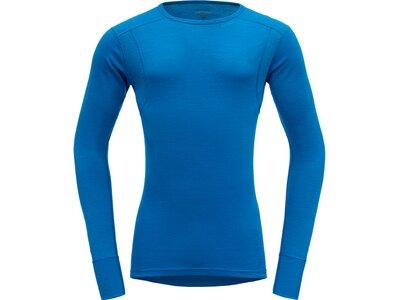 DEVOLD Herren Unterhemd HIKING Blau