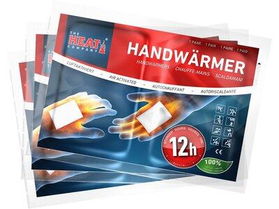 THE HEAT COMPANY Handwärmer 12 Stunden 3er Weiß