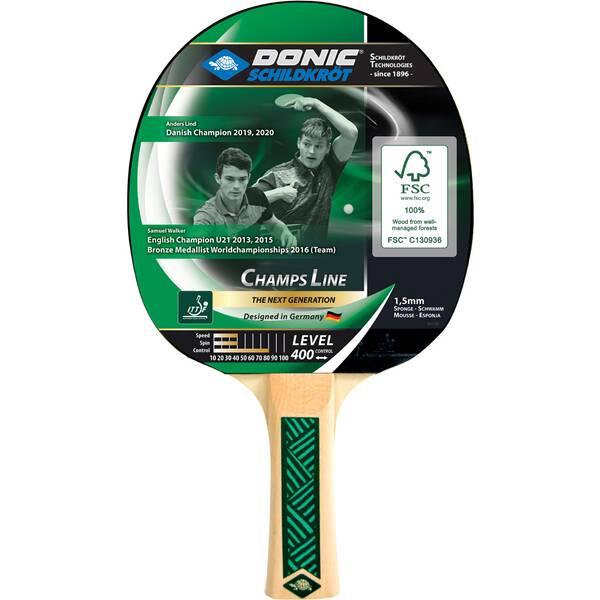 Donic-Schildkröt Tischtennisschläger Champs Line 400
