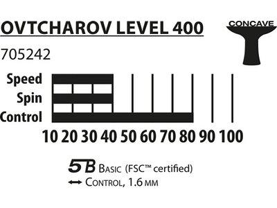 Donic-Schildkröt Tischtennisschläger Ovtcharov 400 FSC Silber