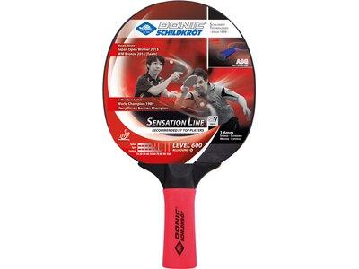 Donic-Schildkröt Tischtennisschläger Sensation 600 Rot