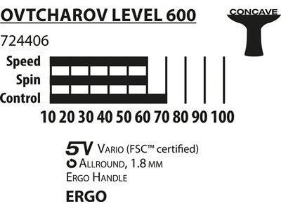 Donic-Schildkröt Tischtennisschläger Ovtcharov 600 FSC Rot