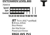 Vorschau: Donic-Schildkröt Tischtennisschläger Ovtcharov 800 FSC