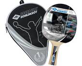 Vorschau: DONIC SCHILDKRÖT Tischtennis-Schläger OVTCHAROV Silver FSC inkl.Hülle
