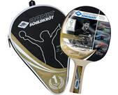 Vorschau: DONIC SCHILDKRÖT Tischtennis-Schläger OVTCHAROV Gold FSC, inkl. Hülle