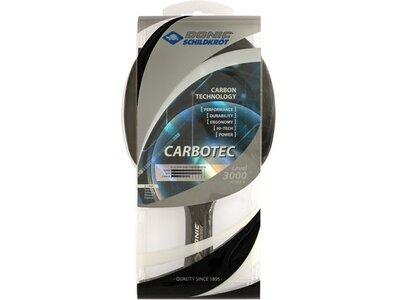 Donic-Schildkröt Tischtennisschläger CarboTec 3000, konkav Silber