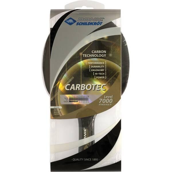 Donic-Schildkröt Tischtennisschläger CarboTec 7000, konkav