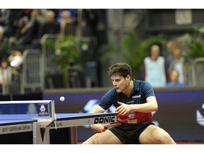 Donic-Schildkröt Tischtennis-Set Ovtcharov 400 FSC, im Blister Silber