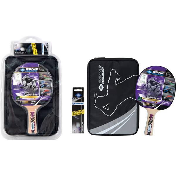 """DONIC SCHILDKRÖT Tischtennis-Set LEGENDS 800 FSC """"Premium-Geschenkset"""""""