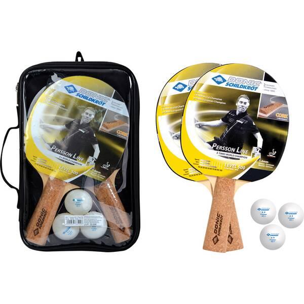 Donic-Schildkröt Tischtennis-Set Persson 500 Kork