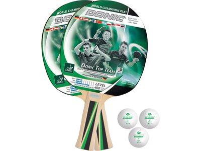 Donic-Schildkröt Tischtennis-Set Top Team 400 Schwarz