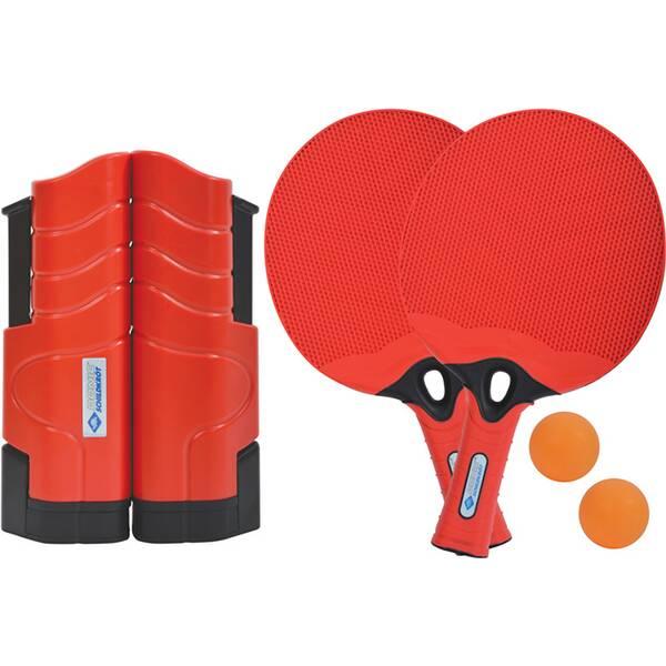 DONIC SCHILDKRÖT Tischtennis-Set (2x Schläger + 2 Bälle + 1 Flex Net)