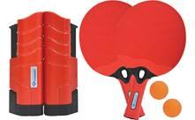 Vorschau: DONIC SCHILDKRÖT Tischtennis-Set (2x Schläger + 2 Bälle + 1 Flex Net)