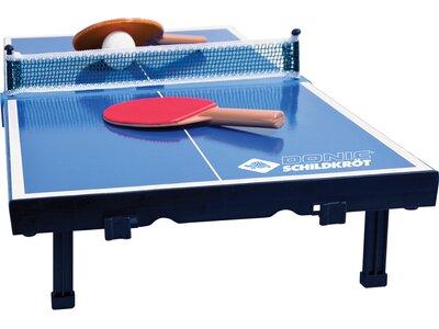 DONIC SCHILDKRÖT Tischtennis Minitisch-Set MINI Blau
