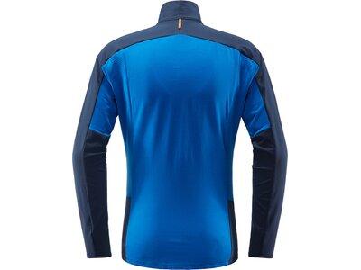 HAGLÖFS Herren Fleecejacke L.I.M Rock Mid Jacket Blau