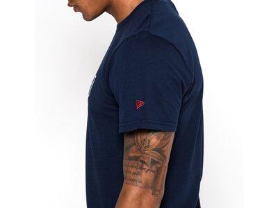 NEW ERA Herren T-Shirt NEW ENGLAND PATRIOTS TEAM LOGO Blau