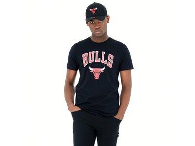 NEW ERA Herren T-Shirt CHICAGO BULLS Schwarz