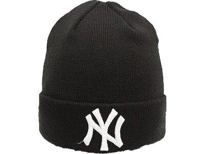 NEW ERA Herren ESSENTIAL CUFF New York Yankees Schwarz