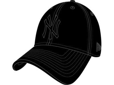 NEW ERA Herren MLB LEAGUE ESS 940 NEYYAN Schwarz