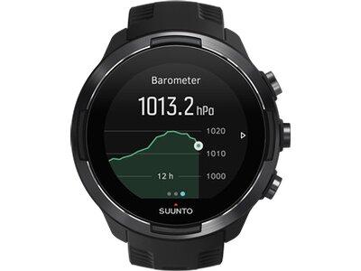 SUUNTO Sportuhr GPS Uhr SUUNTO 9 Schwarz