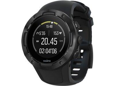 SUUNTO Sportuhr GPS Uhr SUUNTO 5 Schwarz