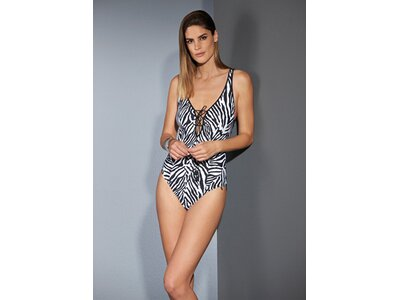 OPERA Damen Badeanzug Badeanzug Schwarz