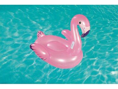 BESTWAY SCHWIMMTIER FLAMINGO 127 X 127 C Pink