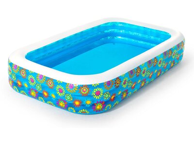 BESTWAY FAMILY POOL FANTASIA 305 X 18 Blau