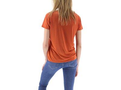SUN VALLEY Damen Shirt SS T-SHIRT Braun