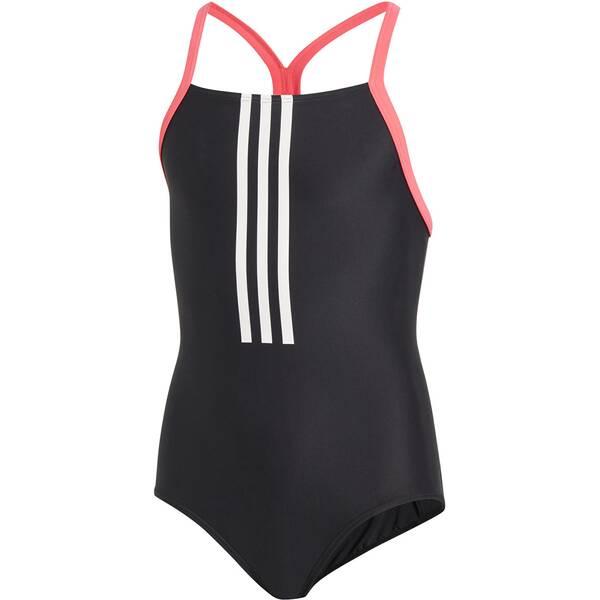ADIDAS Mädchen Badeanzug Back-To-School 3-Streifen